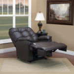 5600 Bonded Leather II Coffee Reclined
